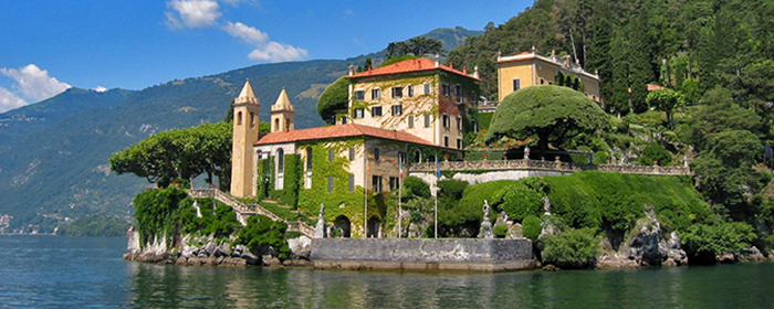 Classical Villas & Gardens of the Lake District of Italy